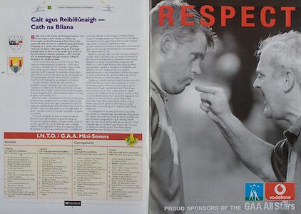 All Ireland Senior Hurling Championship - Final,.14092003AISHCF,.14.09.2003, 09.14.2003, 9th September 2003,.Senior Kilkenny 1-14, Cork 1-11,.Minor Kilkenny 2-16, Galway 2-15,.vodafone,