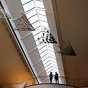 The Dunedin Public Art gallery foyer. Dunedin, Otago, New Zealand..25th March  2011.  Photo Tim Clayton.