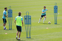 Luka Zahovic during training of Slovenian national football team before friendly match against Montenegro, on May 30, 2018 in National Football Centre, Brdo pri Kranju, Kranj, Slovenia. Photo by Urban Urbanc / Sportida