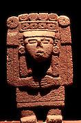 MEXICO, MEXICO CITY, MUSEUM Aztec; Xilonen goddess of corn