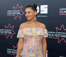 Edinburgh International Film Festival, Thursday, 21st June 2018<br /> <br /> 'EATEN BY LIONS' World Premiere<br /> <br /> Pictured: Natalie Davies<br /> <br /> (c) Aimee Todd | Edinburgh Elite media