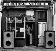 Sound System DJ at Don't Stop Muzic Centre - Notting Hill Carnival - 1979