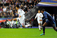 FOOTBALL - FRIENDLY GAME 2012 - FRANCE v JAPAN - STADE DE FRANCE ( SAINT DENIS ) FRANCE - 12/10/2012 - PHOTO JEAN MARIE HERVIO / REGAMEDIA / DPPI - KENGO NAKAMURA (JAP)