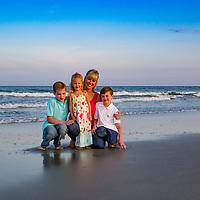 Michaela and Family, Garden City Beach, SC