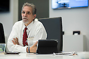 Securus CEO, Rick Smith at the companies offices near Dallas, Texas on December 14, 2015. (Cooper Neill)