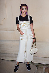 Irene Kim arriving the Chanel 'Code Coco' Watch Launch Party as part of the Paris Fashion Week Womenswear Spring/Summer 2018 on October 3, 2017 in Paris, France, October 03 2017. Photo by Nasser Berzane/ABACAPRESS.COM