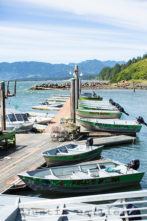 Kelley's Marina. Oregon Coast.