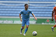 Coventry City striker (on loan from Portsmouth) Conor Chaplin (10) sprints forward with the ball during the EFL Sky Bet League 1 match between Coventry City and Shrewsbury Town at the Ricoh Arena, Coventry, England on 28 April 2019.