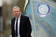 Portsmouth manager Kenny Jackett arrive at Adams Park ahead of today match, EFL Sky Bet League 1 match between Wycombe Wanderers and Portsmouth at Adams Park, High Wycombe, England on 6 April 2019.