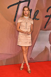 Laura Whitmore attending The Fashion Awards 2016 at the Royal Albert Hall, London.