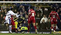 Photo: Paul Thomas/Sportsbeat Images.<br /> Leeds United v Swindon Town. Coca Cola League 1. 17/11/2007.<br /> <br /> Jermaine Beckford (L) of Leeds scores.