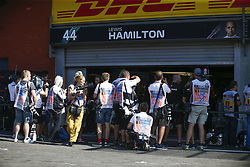 August 31, 2019, Spa-Francorchamps, Belgium: Motorsports: FIA Formula One World Championship 2019, Grand Prix of Belgium, ..photographer, Fotograf, media, Medien, press, Presse  (Credit Image: © Hoch Zwei via ZUMA Wire)