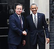 President Barack Obama and Prime Minister David Cameron, 10 Downing Street