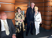 MICHAEL CASSIDY; DAME JENNY ABRAMSKY; SIR MICHAEL CAINE; BARBARA WINDSOR, The Galleries of Modern London launch party at the Museum of London on May 27, 2010 in London. <br /> -DO NOT ARCHIVE-© Copyright Photograph by Dafydd Jones. 248 Clapham Rd. London SW9 0PZ. Tel 0207 820 0771. www.dafjones.com.