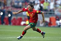 Fotball<br /> Euro 2004<br /> Portugal<br /> 16. juni 2004<br /> Foto: Dppi/Digitalsport<br /> NORWAY ONLY<br /> Portugal v Russland 2-0<br /> JOY MANICHE (POR)