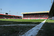 Corner view of ground during the UEFA European Under 17 Championship 2018 match between England and Italy at the Banks's Stadium, Walsall, England on 7 May 2018. Picture by Mick Haynes.