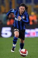 """Maniche (Inter)<br /> Roma 29/03/2008 Stadio """"Olimpico"""" <br /> Campionato Italiano Serie A<br /> Lazio Inter (1-1)<br /> Foto Andrea Staccioli Insidefoto"""