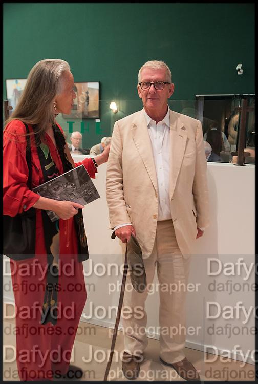 CAROLINE BLUNDEL; CHRISTOPHER GIBBS, Masterpiece London 2014 Preview. The Royal Hospital, Chelsea. London. 25 June 2014.
