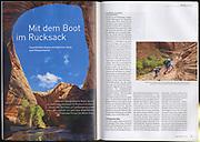 Die Alpen: Mit dem Boot im Rucksack (August 2018)