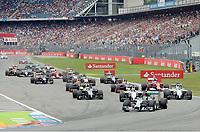 Feature Start , illustrasjon<br /> Formel 1, Grosser Preis Santander von Deutschland 2014, Hockenheimring<br /> Norway only<br /> F1