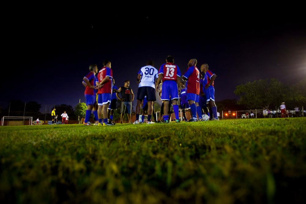 Januaria_MG, Brasil...Jogo de futebol em Januaria, Minas Gerais...The soccer match in Januaria, Minas Gerais...Foto: LEO DRUMOND / NITRO