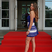 Hurlingham Club ,London, England, UK. 10th July, 2017. Holly Jenning attend The Grand Prix Ball attracted a host of star-studded celebrity guests last night at Hurlingham Club , including Formula 1 drivers as well as iconic Formula 1 cars. Guests mingled with the elite whist being enterained with live performances by award winning UK artists and DJs ahead of the British Grand Prix at Silverstone.