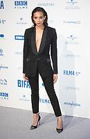 Hannah John-Kamen at the 22nd British Independent Film Awards, Roaming Arrivals, Old Billingsgate, London, UK - 01 Dec 2019