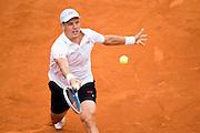 Paris, France. Roland Garros. May 27th 2013.<br /> Czech player Tomas BERDYCH against Gael MONFILS