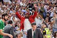 NBA Toronto Raptors's player Serge Ibaka during semi finals of playoff Liga Endesa match between Real Madrid and Unicaja Malaga at Wizink Center in Madrid, June 02, 2017. Spain.<br /> (ALTERPHOTOS/BorjaB.Hojas)