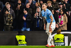 February 21, 2019 - London, Great Britain - 190221 SÅ¡ren Rieks of MalmÅ¡ FF in pain during the Europa league match between Chelsea and MalmÅ¡ FF on February 21, 2019 in London..Photo: Petter Arvidson / BILDBYRN / kod PA / 92228 (Credit Image: © Petter Arvidson/Bildbyran via ZUMA Press)