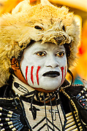 Mens Traditional  Dancer, Comanche Tribe, Crow Fair, powwow, Crow Indian Reservation, Montana