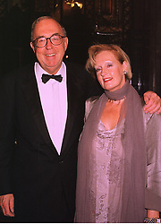 LORD & LADY ALEXANDER OF WEEDON at a dinner in London on 6th October 1998.MKN 23