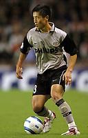 Fotball<br /> Champions League 2004/05<br /> Arsenal v PSV Eindhoven<br /> Gruppe E<br /> 14. september 2004<br /> Foto: Digitalsport<br /> NORWAY ONLY<br />  YOUNG PYO LEE (PSV)