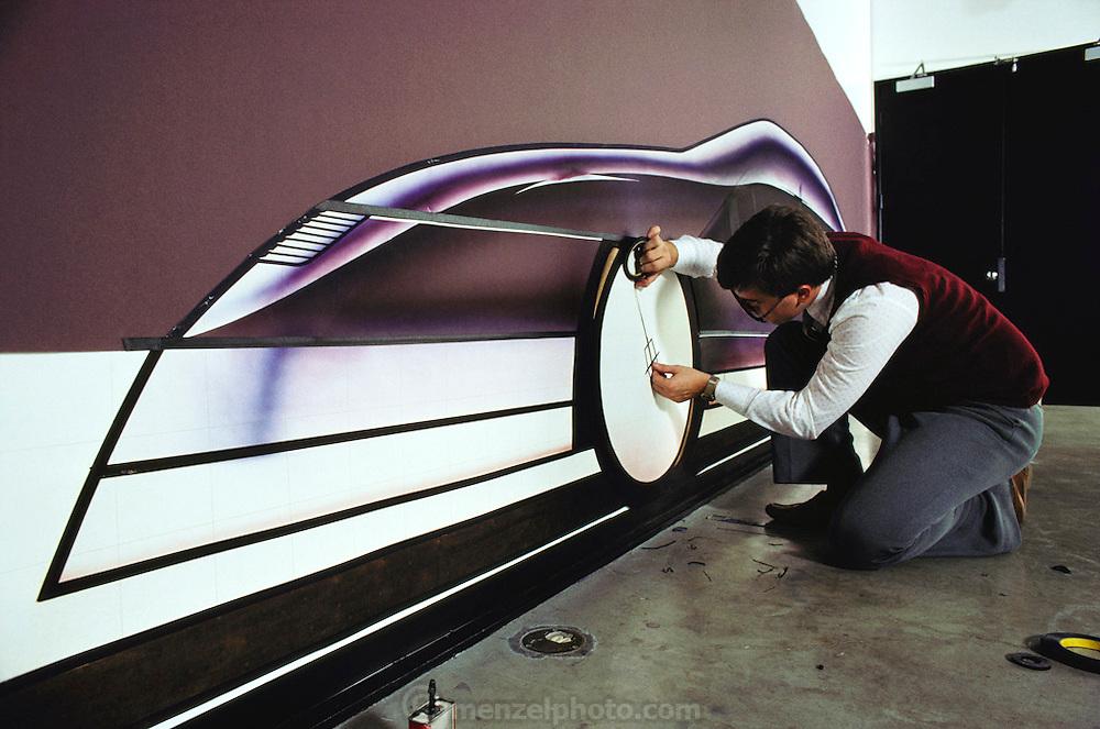 Art Center College of Design, Pasadena, California. Department of Transportation Design. 1983. USA.