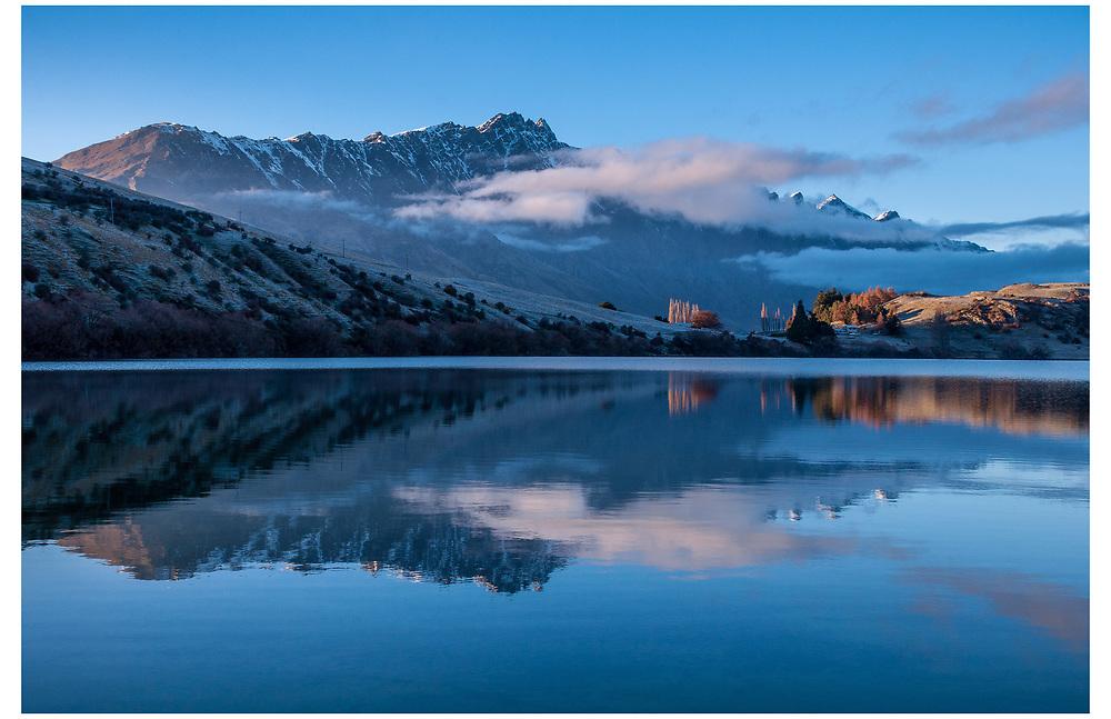 Lake Johnson, Queenstown, Otago.