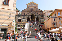 GV, general view, Duomo di Amalfi, Amalfi Cathedral, September, 2015, 201509161615<br /> <br /> Copyright Image from Victor Patterson, 54 Dorchester Park, Belfast, UK, BT9 6RJ<br /> <br /> t1: +44 28 9066 1296<br /> t2: +44 28 9002 2446<br /> m: +44 7802 353836<br /> e: victorpatterson@me.com<br /> <br /> www.victorpatterson.com<br /> <br /> IMPORTANT: Please see my Terms and Conditions of Use at www.victorpatterson.com