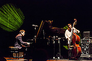 "Albert Sanz and Javier Colina  performing for the ""Jazz festival of Madrid"""
