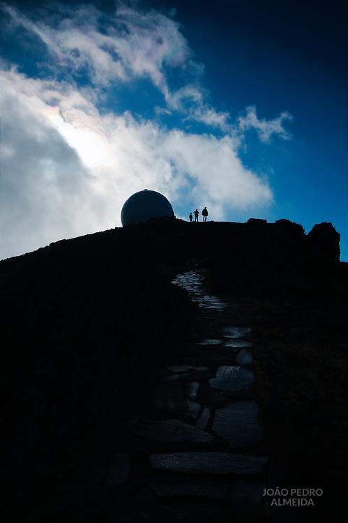 Footpath at Pico do Areeiro, Madeira