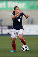 Rachel Corsie (#4) of Scotland in action during the FIFA Women's World Cup UEFA Qualifier match between Scotland Women and Belarus Women at Falkirk Stadium, Falkirk, Scotland on 7 June 2018. Picture by Craig Doyle.