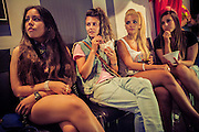 Many girls have attended to the speed meeting with the intention to meet with other girls. The Circuit Festival is the most important Gay and Lesbian Festival of Europe. It's celebrated every year in Barcelona. People visit it from all over the world. USA, Canada, Australia, India, China, Rusia or Singapur are some of the destinations furthermore the European countries, like France, England, Holland, Italy or German. In 2013 has received 70.000 visitors. Women are a minority inside the festival, although every year is more crowded. They are more invisible for the society than men, so they feel completely free in the festival and like to join and enjoy with other women that feel in the same way.