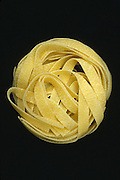tightly wrapped ball of noodles