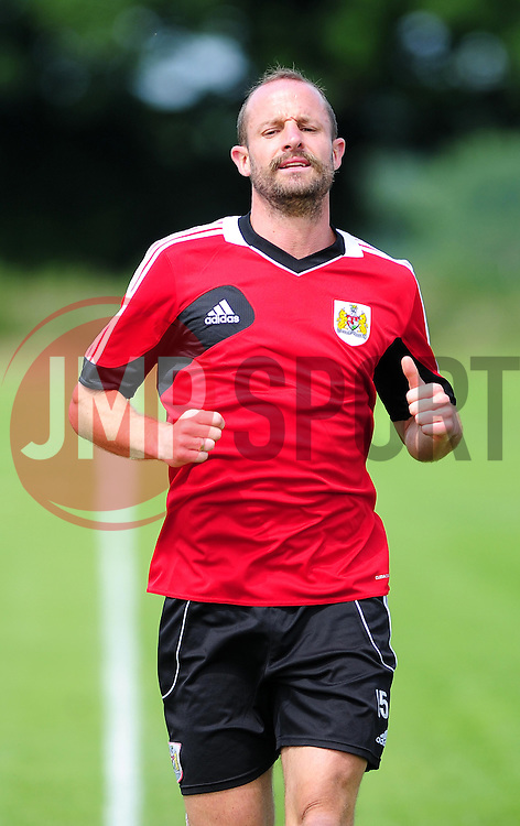 Bristol City's Louis Carey - Photo mandatory by-line: Dougie Allward/JMP - Tel: Mobile: 07966 386802 27/06/2013 - SPORT - FOOTBALL - Bristol -  Bristol City - Pre Season Training - Npower League One