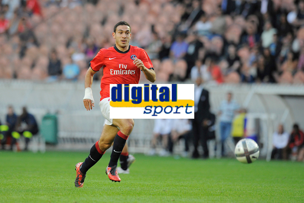 FOOTBALL - UEFA EUROPA LEAGUE 2010/2011 - PLAY OFF - 1ST LEG - PARIS SG v MACCABI TEL AVIV - 19/08/2010 - PHOTO JEAN MARIE HERVIO / DPPI - MEVLUT ERDING (PSG)