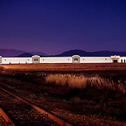 Kendall Jackson Distribution Warehouse Industrial Infrastructure- Architectural Photography Example of Chip Allen's work.