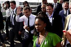 June 24, 2017 - Paris, France, France - Emmanuel Macron - president de la Republique.Laura Flessel - Ministre des sports.Guy Drut .Anne Hidalgo - Maire de Paris (Credit Image: © Panoramic via ZUMA Press)