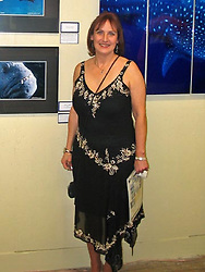 """Janet was one of the major contributors to this exhibition of """"New England Underwater Photographers"""" at the Dryden Gallery."""