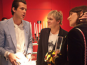 MARK RONSON; NICK RHODES; BELLA FREUD , Prima Donna opening night. Sadler's Wells Theatre, Rosebery Avenue, London EC1, Premiere of Rufus Wainwright's opera. 13 April 2010