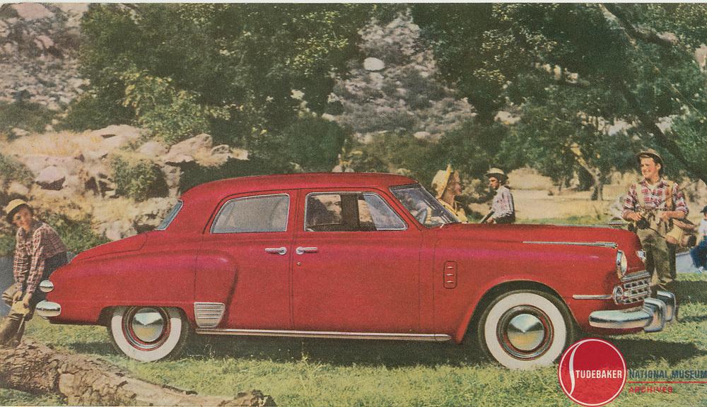 1949 Studebaker Land Cruiser from Studebaker factory sales literature