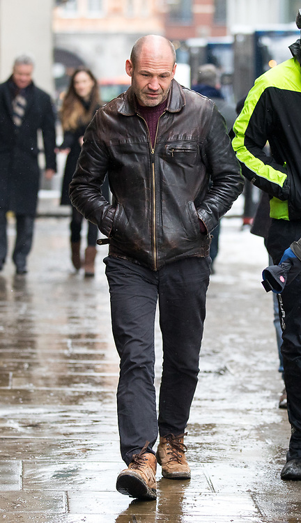 © Licensed to London News Pictures. 01/03/2018. London, UK. James (Jim) Matthews arrives at the Old Bailey to attend a preliminary hearing, as he is charged with one count of 'attending a place used for terrorist training', under section 8 of the Terrorism Act 2006. The former British Army soldier fought with Kurdish forces - the YPG - against ISIS in Syria. Photo credit : Tom Nicholson/LNP