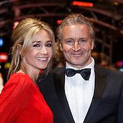 NLD/Amsterdam/20131104 - Premiere Het Diner, Wendy van Dijk en partner Erland Galjaard